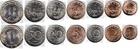 Набор монет Болгария 1999-2002 (7 монет)