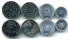 Набор монет Бурунди 1980-2011 г (4 монеты)