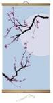 Гибкий настенный обогреватель Сакура (60х100 см)