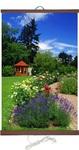 Гибкий настенный обогреватель Цветы (50х100 см)