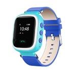 Детские часы Smart Baby Watch с GPS трекером Q60 (голубые)