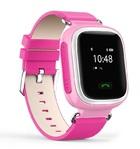 Детские часы Smart Baby Watch с GPS трекером Q60 (розовые)
