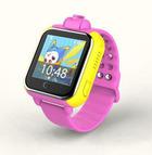 Детские часы Smart Baby Watch Q730 с GPS, функцией телефона и камерой (розовые)