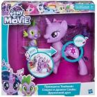 Игровой набор My Little Pony Сияние Поющая Твайлайт Спаркл и Спайк Hasbro C0718