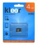 Карта памяти Kleer microSDHC Class 4 4GB (klmsd-004r)