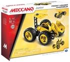 Конструктор Meccano Junior 15105 Фронтальный погрузчик 3 в 1 (91744)