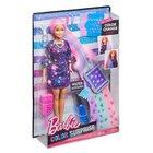 Кукла Barbie Цветной сюрприз с розовыми волосами Mattel FHX00