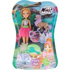 Кукла Winx Club Flora Волшебный питомец (IW01221500)