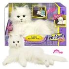 Интерактивная лежачая белая Кошка Лулу из серии Fur Real Hasbro