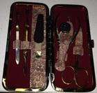 Маникюрный набор Zinger MSFE-501 G (какао)