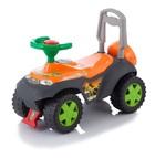 Машинка-каталка Jetem Tolocar Dinosauros World (оранжевая)