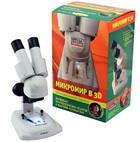 Набор для исследований НАУЧНЫЕ РАЗВЛЕЧЕНИЯ Микромир в 3D, Микроскоп