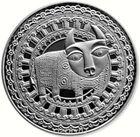 Монета Беларусь 1 рубль 2009 Телец (Proof)