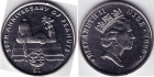 Монета Ниуэ 1 доллар Медно-никель 2000 (Снупи)