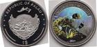 Монета Палау 1 доллар Медно-никель 2011 (Подводная жизнь)