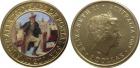 Монета 1 доллар 2009 год Австралия (200-летие почтовой службы Австралии, цветная эмаль)