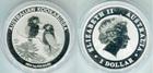 Монета 1 доллар 2013 год Австралия (Австралийская Кукабарра) серебро