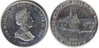 Монета 1 крона 2008 год (Знаменитые корабли Королевского флота)