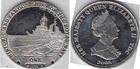 Монета 1 крона 2008 год Тристан Да Кунья (Знаменитые корабли военно-морского флота Белфест)