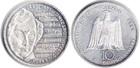 Монета 10 марок 2001 год Германия (250 лет со дня рождения Альберта Лорцинга) серебро