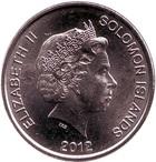 Монета 10 центов 2012 года Соломоновы Острова (Морской дух Нгореру)