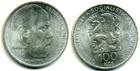 Монета 100 крон 1974 год Чехословакия (Бедрих Сметана) серебро