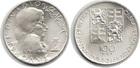 Монета 100 крон 1991 год Чехословакия (200 лет со дня смерти Вольфганга Моцарта)