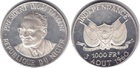 Монета 1000 франков 1960 год Нигер (Независимость) серебро