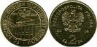 Монета 2 злотых Польша 2009 год (90-летие Верховной контрольной палаты)