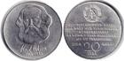Монета 20 марок 1983 год ГДР (100 лет со дня смерти Карла Маркса)