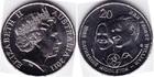 Монета 20 центов 2011 год Австралия (Свадьба Принца Уильяма и Кэтрин Миддлтон)