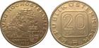 Монета 20 шиллингов 1983 год Австрия (Замок Хостервитц в Каринтии)