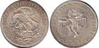 Монета 25 песо 1968 год Мексика (Летние Олимпийские игры 1968) серебро