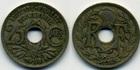 Монета 25 сантимов 1918 год, Франция