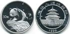 Монета 30 юань Китай 1999 год (Панда) Proof-
