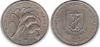 Монета 4 доллара 1970 год Монтсеррат (ФАО)
