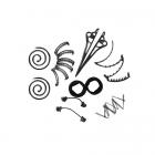 Набор заколок Hairagami (Хеагами)