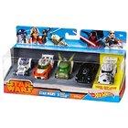 Набор из 5-ти машинок-героев серии Star Wars, Hot Wheels (Mattel CGX36)