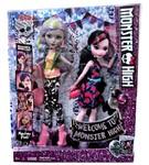Набор кукол Школа Монстров Дракулаура и Моаника (Draculaura and Moanica) DNY33 Mattel