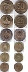 Набор монет Аргентина 1993-2009 г (6 монет)