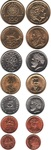Набор монет Греция 1990-2000 г (7 монет)