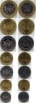 Набор монет КФА 2006 (7 монет)