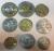 Набор монет Литва 1991-2011 (9 монет)