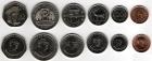 Набор монет Маврикий 1992-2004 г (6 монет)