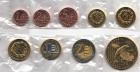 Набор монет Мальта 2004 год (9 монет пробный евро набор)