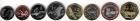 Набор монет Палестина 2010 г (8 монет)