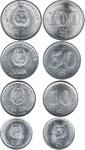 Набор монет Северная Корея 2005 год (4 монеты)