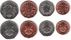 Набор монет Уганда 1987 (4 монеты)