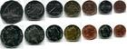 Набор монет Фиджи 1999-2009 г (7монет)