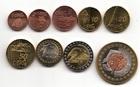 Набор монет Швейцария 2003 год (9 монет пробный евро набор)
